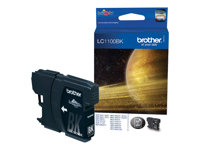 Brother LC1100BK - Svart - original - blekkpatron - for Brother DCP-185, 385, 395, 585, J715, MFC-490, 5490, 5890, 5895, 6890, 790, 795, 990, J615 LC1100BK